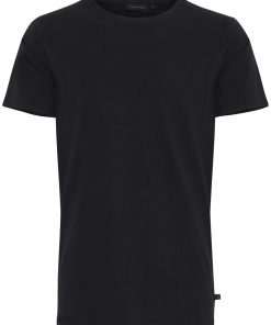 Sort T-shirt i slim fit - Casual Friday