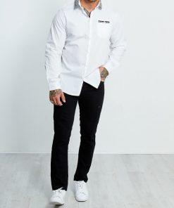 Klassisk herre skjorte hvid