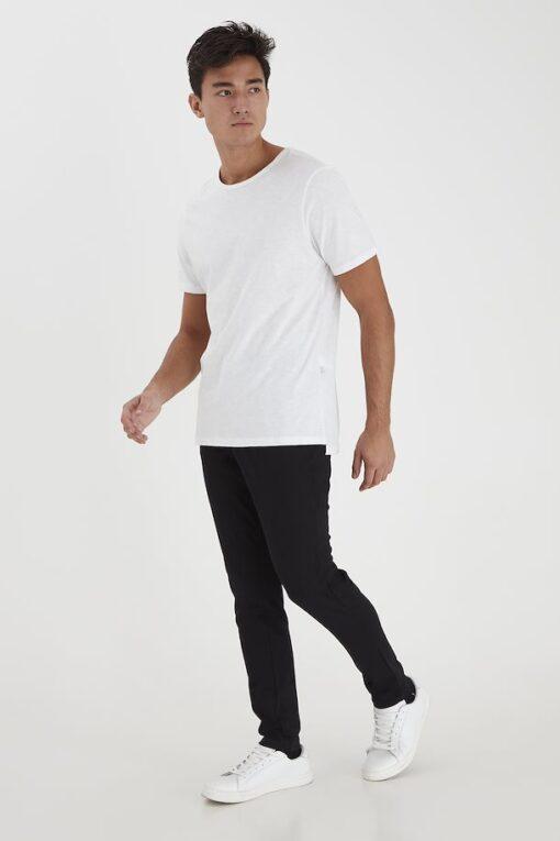 Sorte bukser til mænd i slim fit og stretch