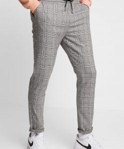 Grå bukser med tern