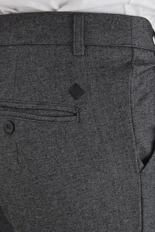 dark grey melange casual buks 2 1