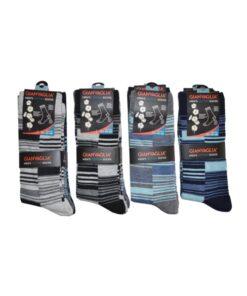 gianvaglia sk 204 heren katoenen sokken blocks 1