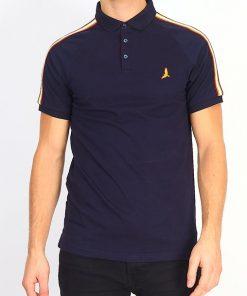 Brave Soul Polo shirt i Mørkeblå