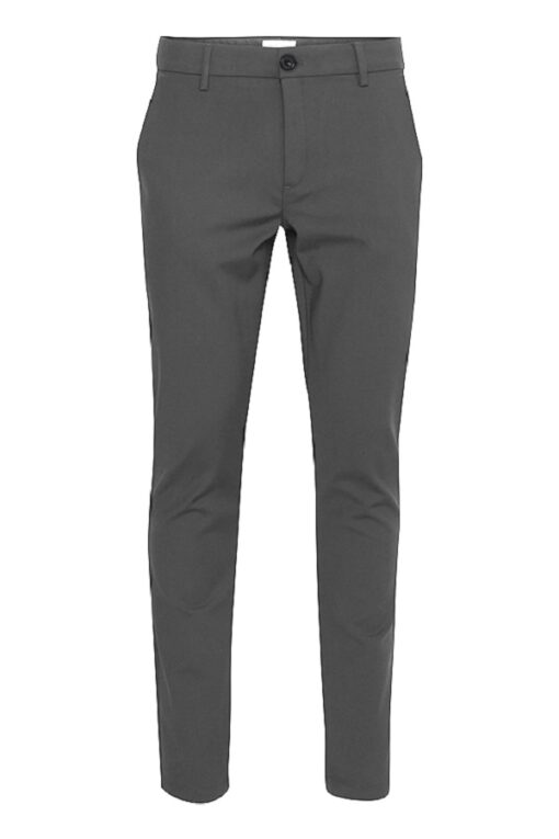 Grå bukser i slim fit - Casual Friday