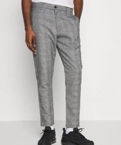 Højtaljede bukser med tern - Brave Soul