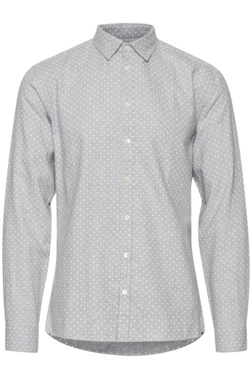 Lysegrå skjorte til mænd