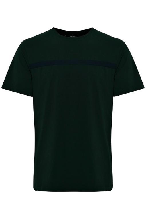 Mørkegrøn T-shirt - Casual Friday
