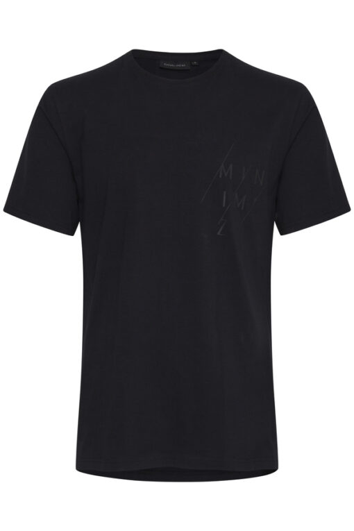 Sort T-shirt med tryk - Casual Friday