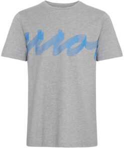 T-shirt med tryk - Grå - Casual Friday
