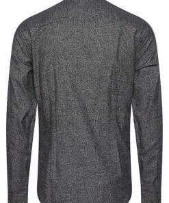 anthracite black langaermet skjorte 1
