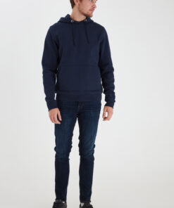 Navy hættetrøje - Casual Friday