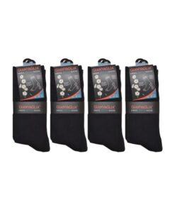 gianvaglia sk 201 heren katoenen sokken zwart 1