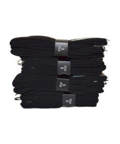 gianvaglia sk 201 heren katoenen sokken zwart 2