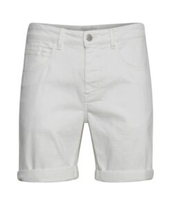 Casual Friday CFPiot Stretch Denim Shorts - Hvid