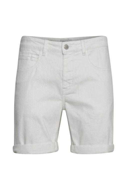 Casual Friday CFPiot Stretch Denim Shorts - Hvid