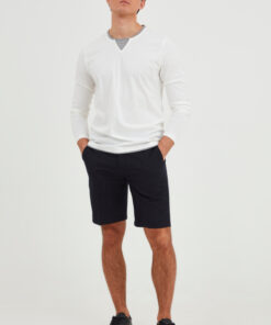 Casual Friday CFPreston Striped Shorts - Navy