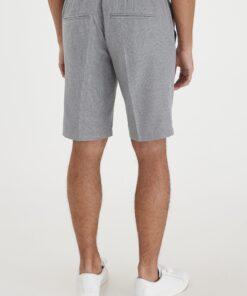 light grey melange shorts casual 2
