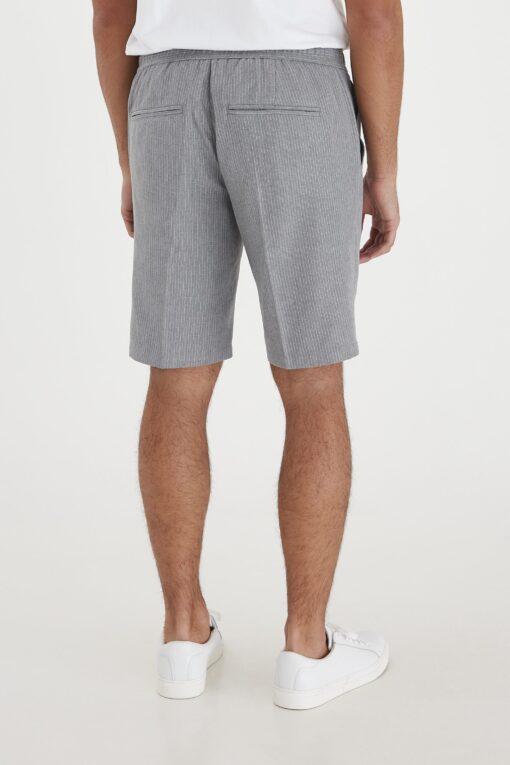 light grey melange shorts casual 2 scaled