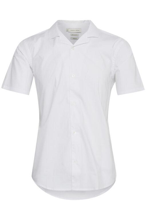 Hvid kortærmet skjorte - Casual Friday