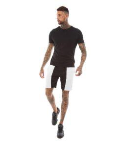 Brave Soul BEACON Shorts - Sort/Hvid