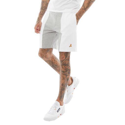 Brave Soul BEACON Shorts - Grå/hvid
