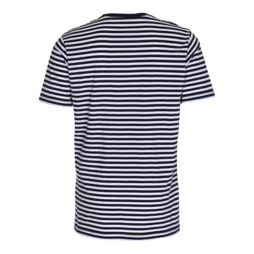 Stribet T-shirt - Blå/Hvid