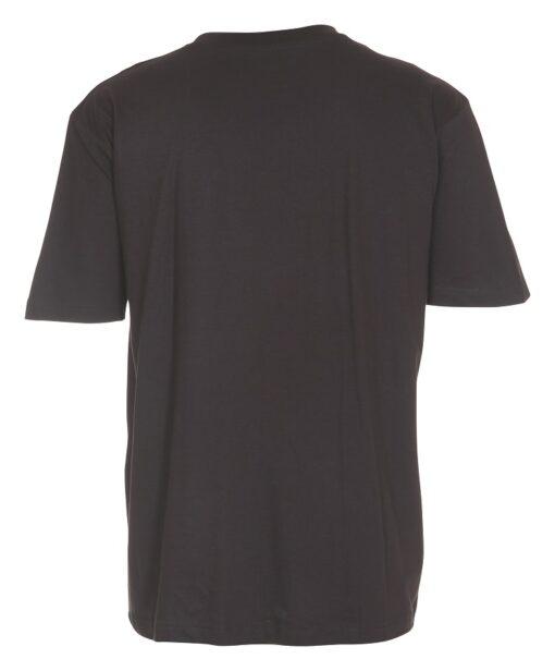 Basic sort/grå t-shirt til mænd