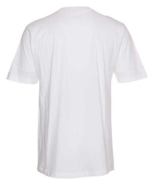 Basic hvid t-shirt til mænd