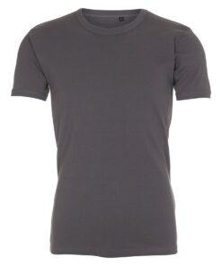 basic T-shirt - Slim fit - Mørkegrå