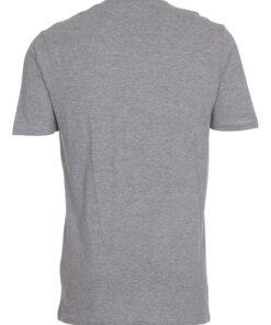 Grå t-shirt med v-hals til mænd